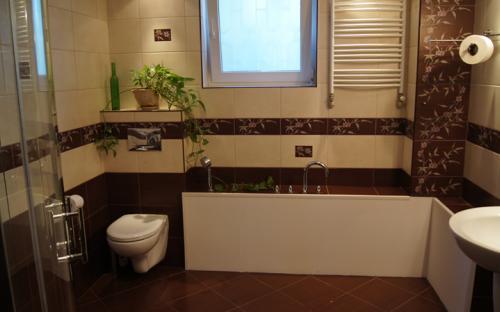Kameralna łazienka